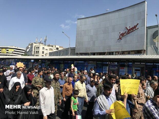 Quds Day rallies in Tehran