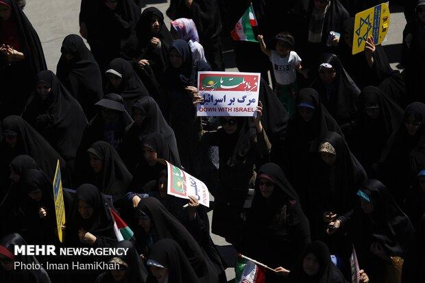 راهپیمایی روز جهانی قدس در همدان