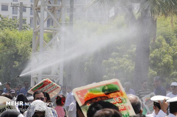 راهپیمایی روز جهانی قدس در بندرعباس