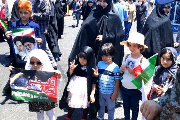 روزهداری و گرما مانع خلق حماسه نشد/حضور گسترده کودکان و نوجوانان