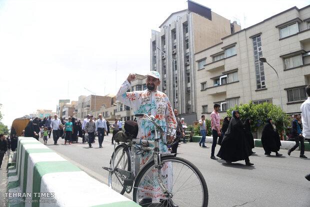 International Quds Day rallies across Iran