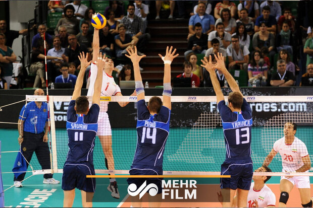 VIDEO: Iran beats Italy at Men's Volleyball Nations League