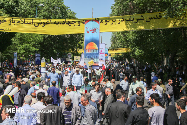 Quds Day rallies across different provinces
