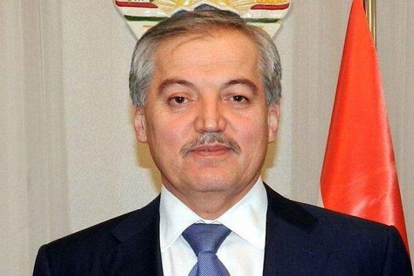 وزير الخارجية الطاجيكي يصل الى طهران