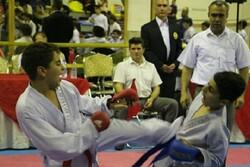 مرحله گروهی مسابقات کاراته «جام رمضان» در رشت برگزار شد