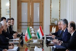 Iranian, Tajik FMs confer on bilateral ties in Tehran