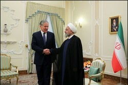 Rouhani says Iran safest transit route for Tajikistan's goods