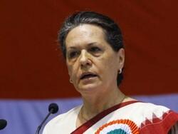 سونیا گاندھی کو کانگریس کا عبوری صدر مقرر کیا گیا