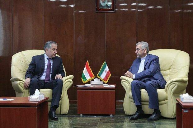 Iran, Tajikistan discuss boosting energy cooperation