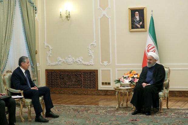 صدر روحانی سے تاجیکستان کے وزیر خارجہ کی ملاقات