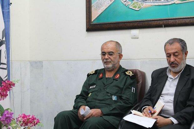 مشارکت سپاه در توسعه فعالیتهای آموزشی استان بوشهر افزایش مییابد