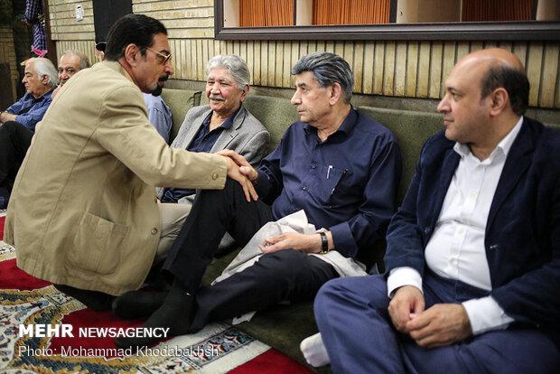مراسم ترحیم زندهیاد پرویز بهرام