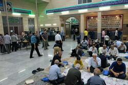 سفره افطاری ساده در مساجد
