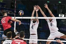 والیبال ایران و آلمان