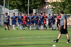 اولین تمرین تیم ملی فوتبال ایران با سرمربی گری مارک ویلموتس