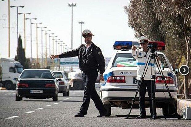 جریمه ۲ هزار خودرو طی طرح ممنوعیت سفر در شرق استان تهران