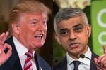 ٹرمپ نے لندن کے میئر کو نالائق قراردیدیا
