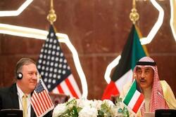 گفتگوی تلفنی وزیران خارجه آمریکا و کویت درباره تحولات منطقهای