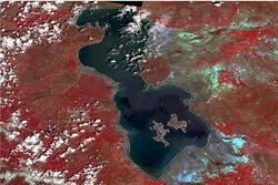 """بحيرة """"أوروميه"""" تزداد مساحة في الشهر الجاري"""