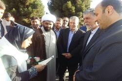 وزیر فرهنگ و ارشاد اسلامی وارد پیشوا شد