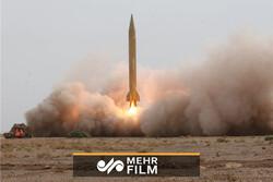 تست دقت برخورد به هدف در موشک قیام ۱