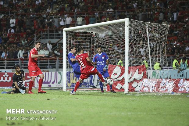 دیدار تیم های Persepolis-Damash in Hazfi Cup پرسپولیس و داماش