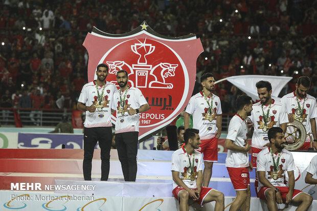 Persepolis-Damash in Hazfi Cup
