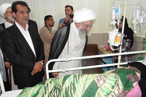 تجهیزات پزشکی بیمارستان زینبیه خورموج تقویت میشود