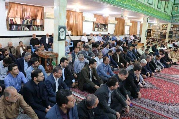 مراسم سی امین سالگرد ارتحال امام خمینی در انزلی برگزار شد