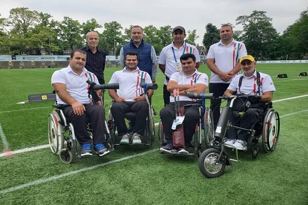 Iranian team wins men's compound at 2019 World Archery Para C'ships
