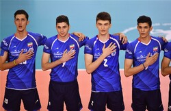 iran U21 volleyball team