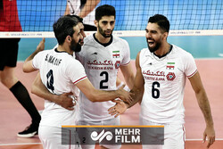 VIDEO: Iran named VNL 'team of the week'