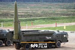 فیلمی از آزمایش موشک جدید روسیه