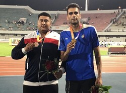 Iran gains one gold, one bronze at Asian Grand Prix 2019