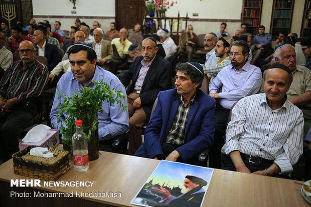 Iranian Jews mark anniversary of Imam Khomeini's passing