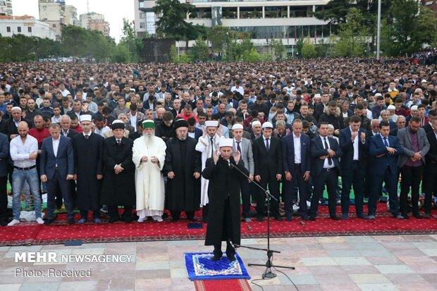 روس میں مسلمانوں کی نماز عید الفطر میں  شرکت