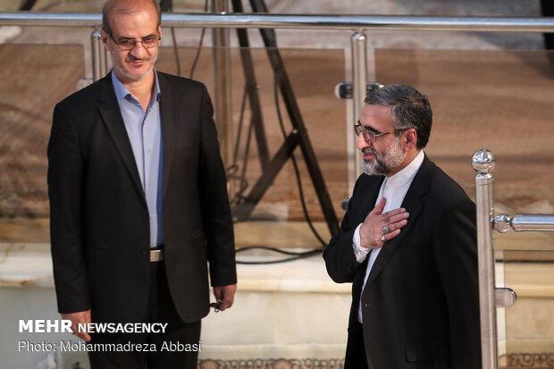 حضور شخصیت های کشوری و لشگری در مراسم سیامین سالگرد ارتحال حضرت امام خمینی(ره)