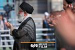 فیلم بیانات رهبر انقلاب در خطبه اول و دوم نماز عید فطر