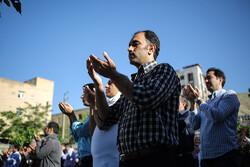 نماز عید فطر در استان سمنان برگزار شد/ عید شیرین بندگی