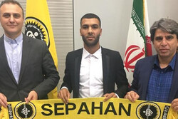 سپاهان مدافع تیم فوتبال پدیده را به خدمت گرفت