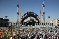 مراسم نماز عید سعید فطر بدون هیچ حادثهای برگزار شد