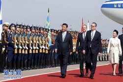 VIDEO: China's Xi arrives in Moscow for state visit