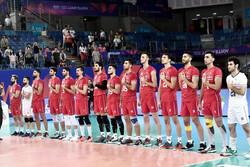 تیم ملی والیبال ایران وارد ارومیه شد