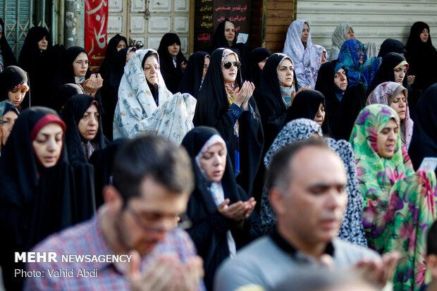 اقامه نماز عید سعید فطر در تبریز