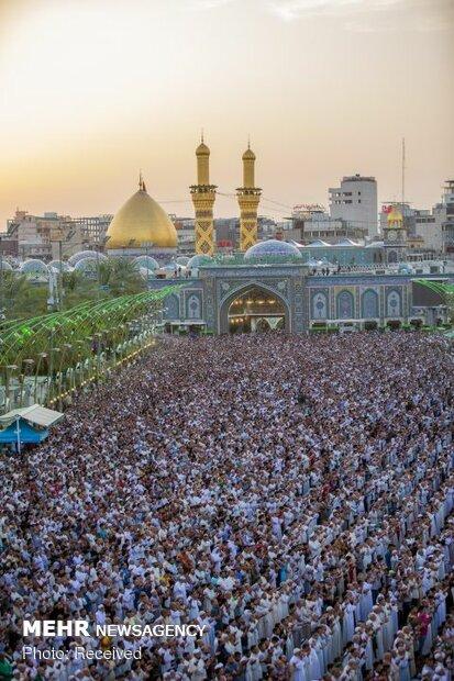 اقامه نماز عید سعید فطر در بین الحرمین