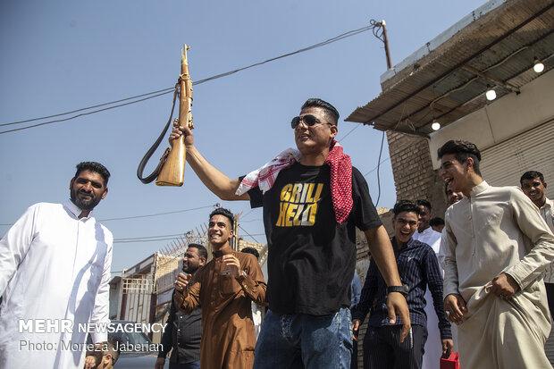 آیین عید  فطر در شهرستان کارون