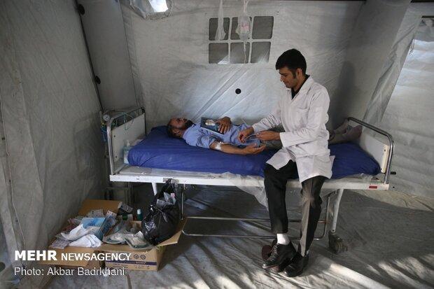 اعزام ۲۰ تیم پزشکی به حاشیه شهر مشهد همزمان با آغاز دهه کرامت