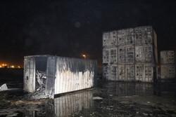 مهار کامل آتش سوزی در اراضی منطقه آزاد قشم پس از عملیات ۴ساعته