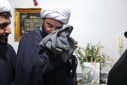 دیداررئیس سازمان تبلیغات اسلامی با خانواده شهیدحجت الاسلام خرسند