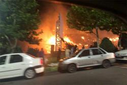 علت آتش سوزی بامداد پنج شنبه لواسان بلال فروشها بودند